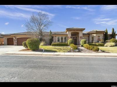 St. George Single Family Home For Sale: 1863 N Labyrinth Dr
