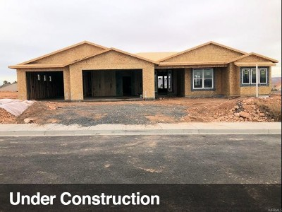 St. George Single Family Home For Sale: 1017 S High Mesa Cir