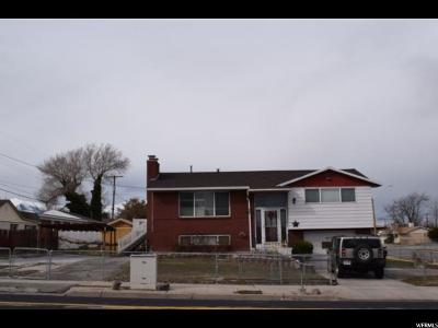 West Valley City Single Family Home For Sale: 4018 S 4800 W