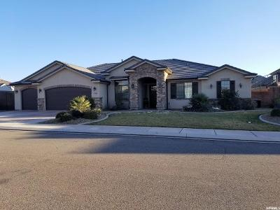 St. George Single Family Home For Sale: 2306 E 3480 S