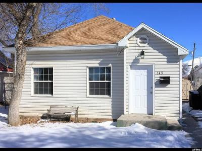 Tremonton Single Family Home Under Contract: 143 S Tremont St