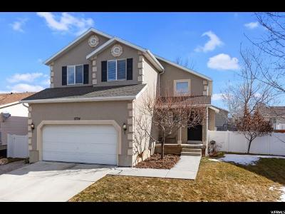Lehi Single Family Home For Sale: 1734 N 2600 W