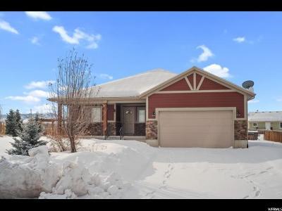 Heber City Single Family Home For Sale: 576 E 300 S
