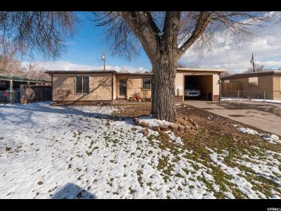 Salt Lake County Single Family Home For Sale: 2871 S 3050 W