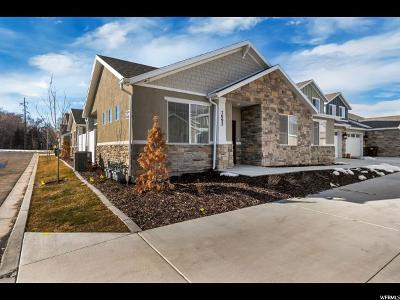 West Valley City Townhouse For Sale: 7092 W Adamo S