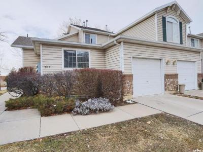 Centerville Townhouse For Sale: 207 N 170 W