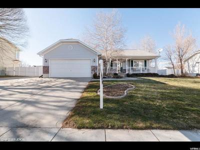Stansbury Park Single Family Home For Sale: 724 Country Club Dr