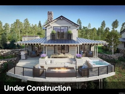 Heber City Single Family Home For Sale: 7396 E Moon Light Dr #A6