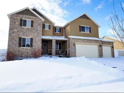 West Jordan Single Family Home For Sale: 6213 W Dinsmore Way S
