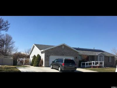 West Jordan Single Family Home For Sale: 8516 S 4770 W