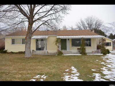 Provo Single Family Home For Sale: 4510 N Canyon Rd