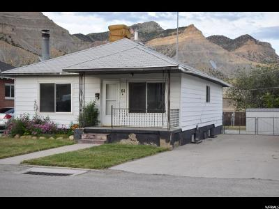 Helper UT Single Family Home For Sale: $100,000