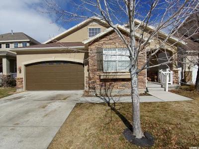 West Jordan Single Family Home For Sale: 4042 W Scarsborough Ln