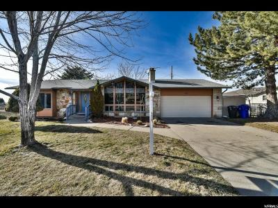 Bountiful Single Family Home For Sale: 2080 S 50 W