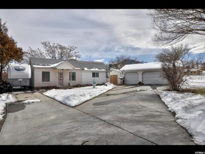 Tooele Single Family Home For Sale: 578 N 100 W