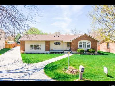 Logan Single Family Home Under Contract: 246 E 1100 N