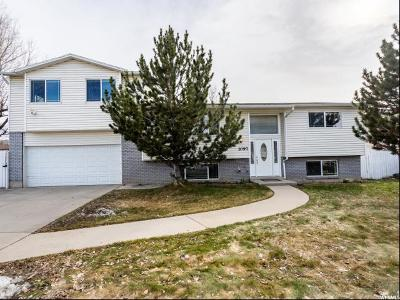 Orem Single Family Home For Sale: 1097 W 180 N