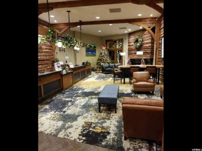 Park City Condo For Sale: 3720 S Sundial Ct #B212
