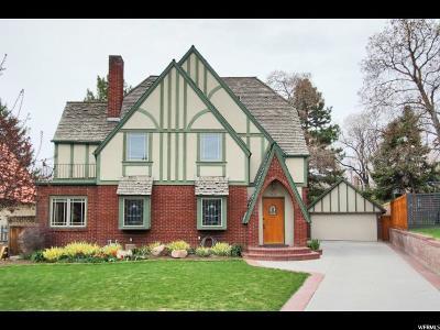 Salt Lake City Single Family Home For Sale: 1413 E Laird Cir S
