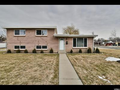 West Valley City Single Family Home For Sale: 3326 W 3615 S