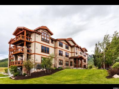 Wasatch County Condo For Sale: 9855 N Vista Dr #303
