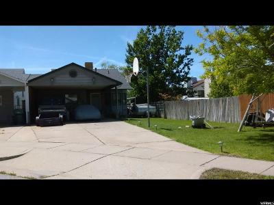 Roy Single Family Home For Sale: 4621 S 3850 W