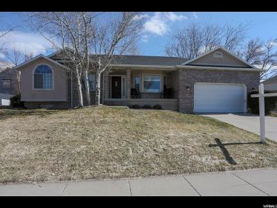 Centerville Single Family Home For Sale: 1278 N 225 W