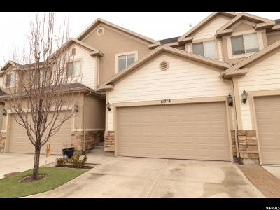 Draper Townhouse For Sale: 11718 S Shadow View Ln