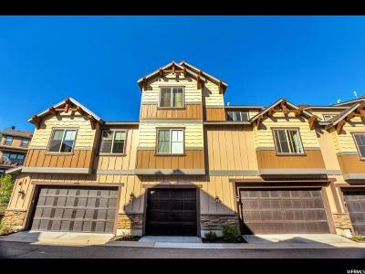 Heber City Townhouse For Sale: 13319 N Highmark Ct