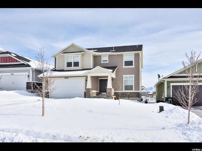 West Jordan Single Family Home For Sale: 7659 S Cassielle Lane Ln W #303