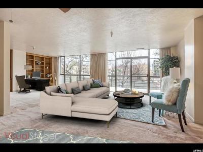 Salt Lake City Condo For Sale: 560 E South Temple #C104