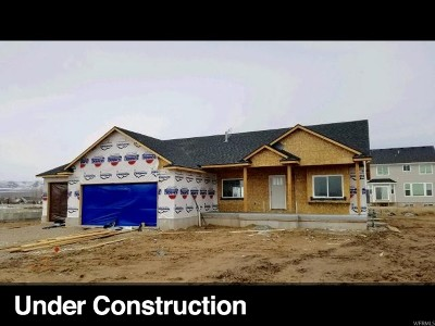 Tremonton Single Family Home Under Contract: 1187 E 250 S