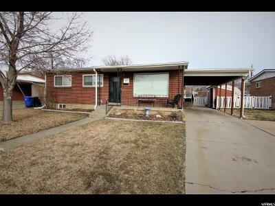 Bountiful Single Family Home For Sale: 67 S 350 W