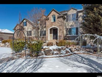 South Jordan Single Family Home For Sale: 3374 W Millville St