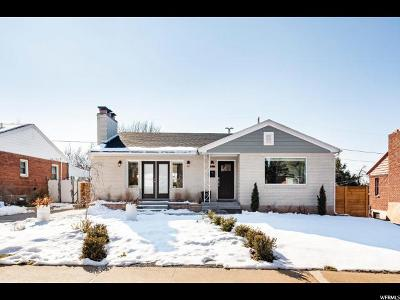Salt Lake City Single Family Home For Sale: 2138 E Browning Ave S
