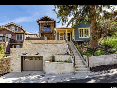 Park City Single Family Home For Sale: 422 Ontario Ave