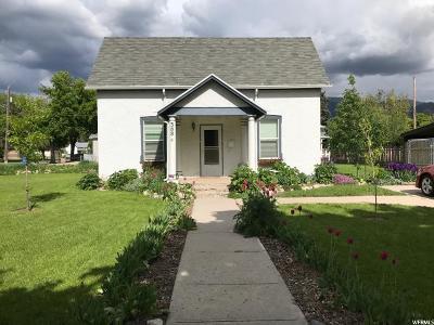 Logan UT Single Family Home For Sale: $155,000