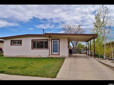 Price Single Family Home For Sale: 826 N 900 E
