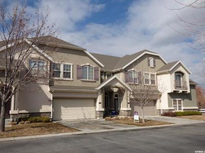 Bluffdale Townhouse For Sale: 1512 W Cabernet Dr S