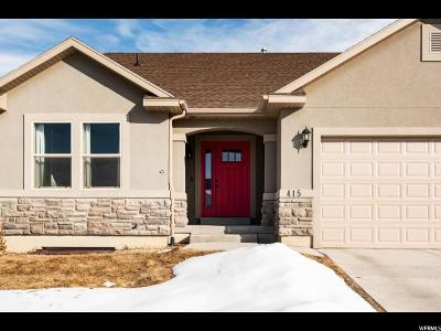 Heber City Single Family Home For Sale: 415 E Acord Way S