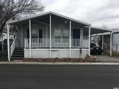 Salt Lake City Single Family Home For Sale: 1256 W Thrush Rd S