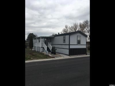 Salt Lake City Single Family Home For Sale: 1286 W Thrush Rd S