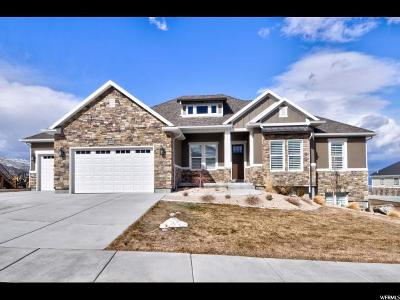 Herriman Single Family Home For Sale: 7032 W Echo Bluff Dr