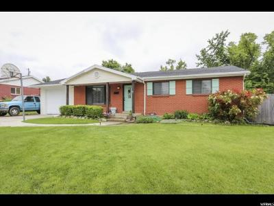 Bountiful Single Family Home For Sale: 154 E 750 N