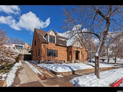 Salt Lake City Condo For Sale: 77 E Hillside Ave