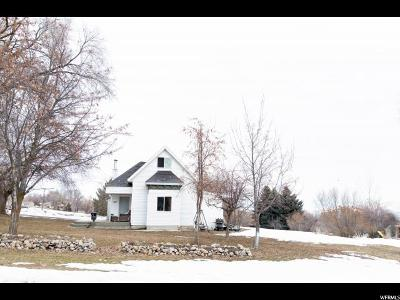 Mendon Single Family Home For Sale: 183 W 100 S