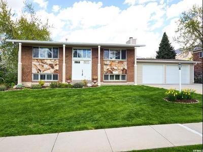 Sandy Single Family Home For Sale: 2555 E Quail Hollow Dr S
