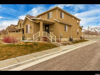 Stansbury Park Townhouse For Sale: 393 E Frost Ln