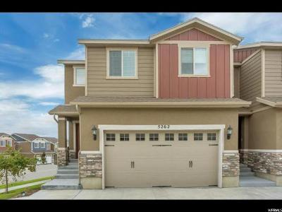 Herriman Townhouse For Sale: 5262 S Lily Cv W