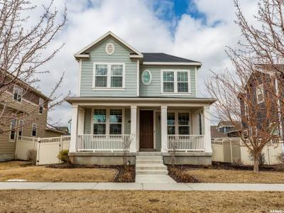 South Jordan Single Family Home For Sale: 4388 W Mille Lacs Dr